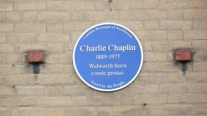 chaplin plaque