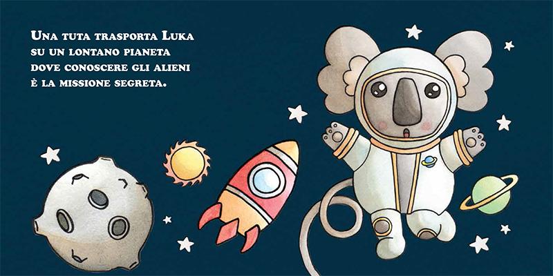 Recensione di Luka Koala. L'astronauta e altri personaggi, Antonella Milardi