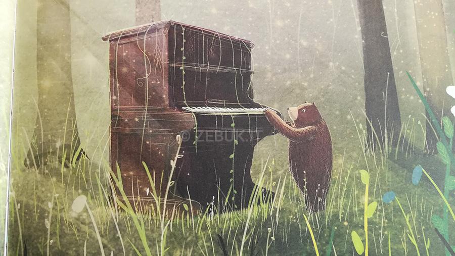 La recensione di L'orso e il piano di David Litchfield edito da Zoolibri