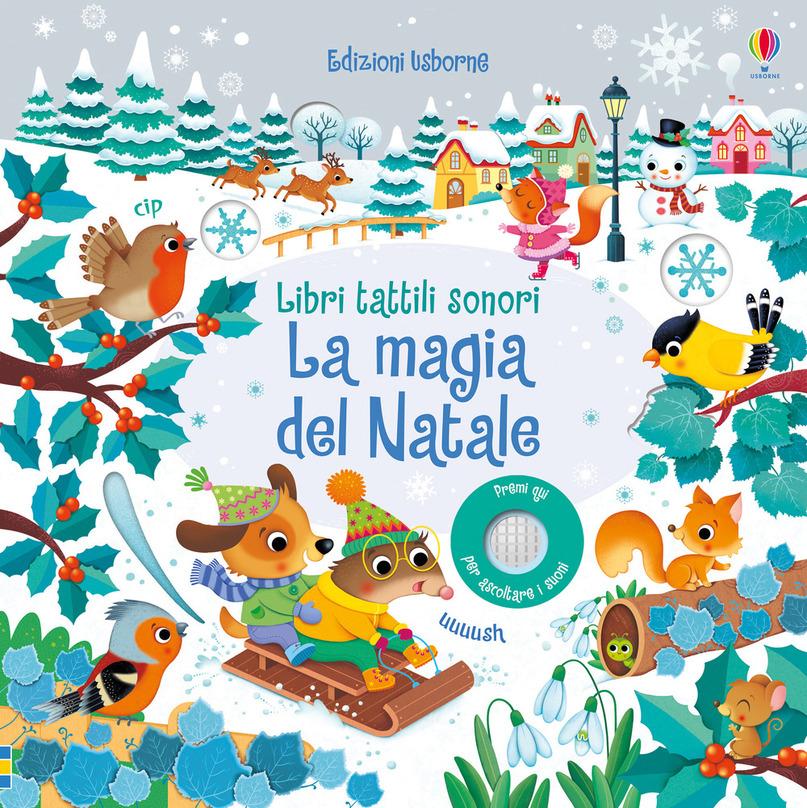 La magia del Natale di Sam Taplin, Edizioni Usborne