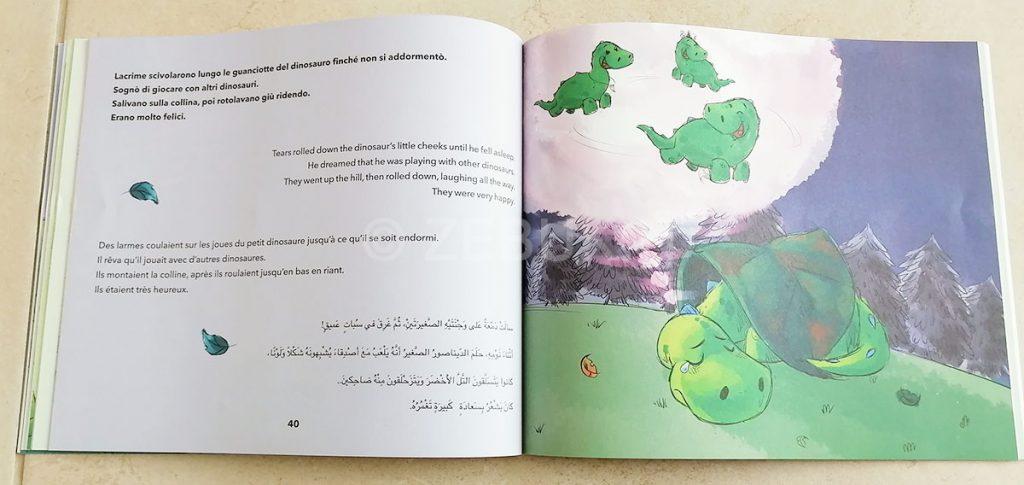 Recensione la Dinoraffa di Hessa Al Muhairi, edito da Marcos y Marcos