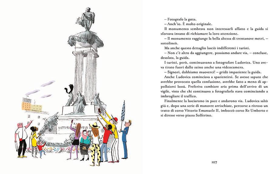 Le avventure della gatta Ludovica, Angelo Petrosino