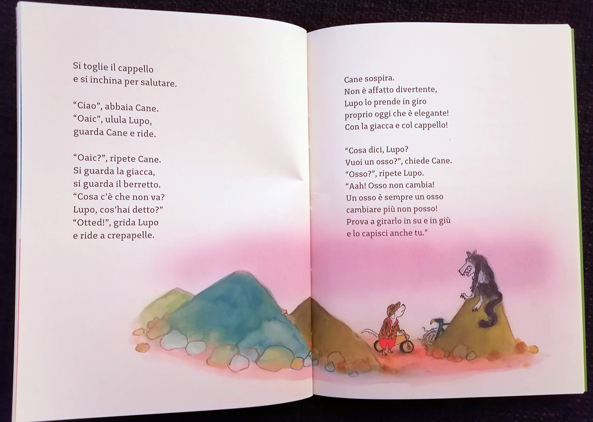 Lupo e Cane insoliti cugini, Sylvia Vanden Heede