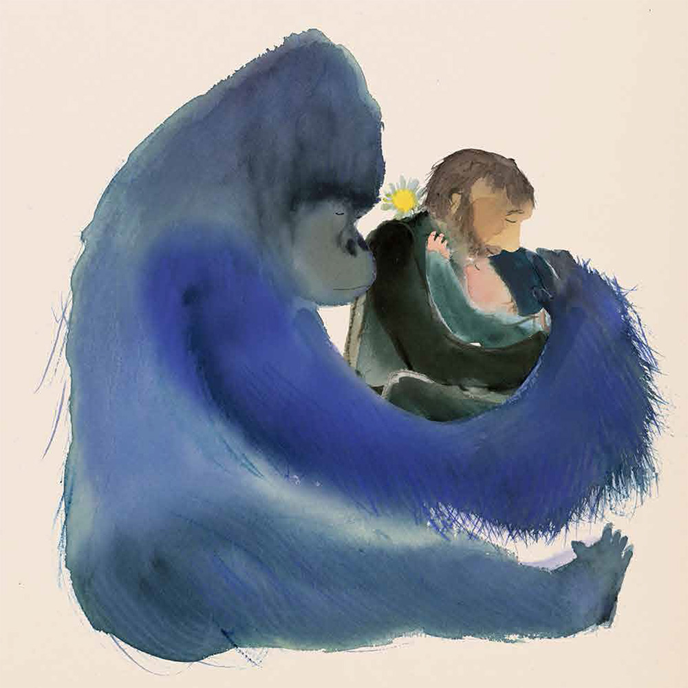 Il bambino e il gorilla, Jackie Azúa Kramer