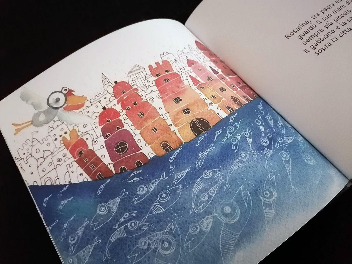 La vera storia del gabbiano Granbaccano e della sardina Rosalina, Laura Lombardo